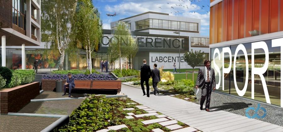 Ondertekening intentieovereenkomst ontwikkeling LabCenter op Lelystad Airport Businesspark