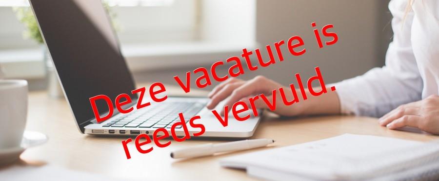 Vacature medewerk(st)er backoffice (16-20 uur per week)